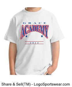 Grace Academy Youth T-Shirt Design Zoom