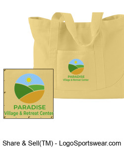 Paradise Tote Bag - New Design Zoom