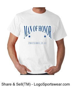MAN OF HONOR T-SHIRT Design Zoom